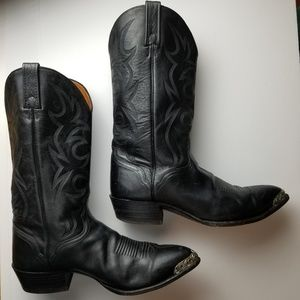 El Dorado Handmade Leather Cowboy Boots Filigree